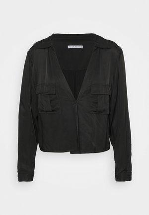 LIFT OFF TIE - Blouse - black