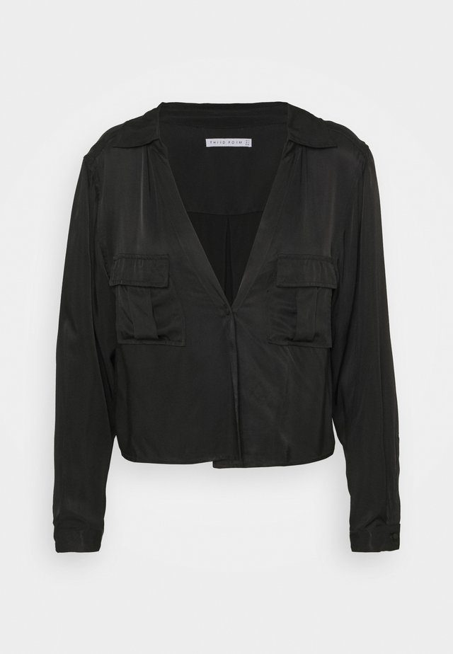 LIFT OFF TIE - Blouse - black