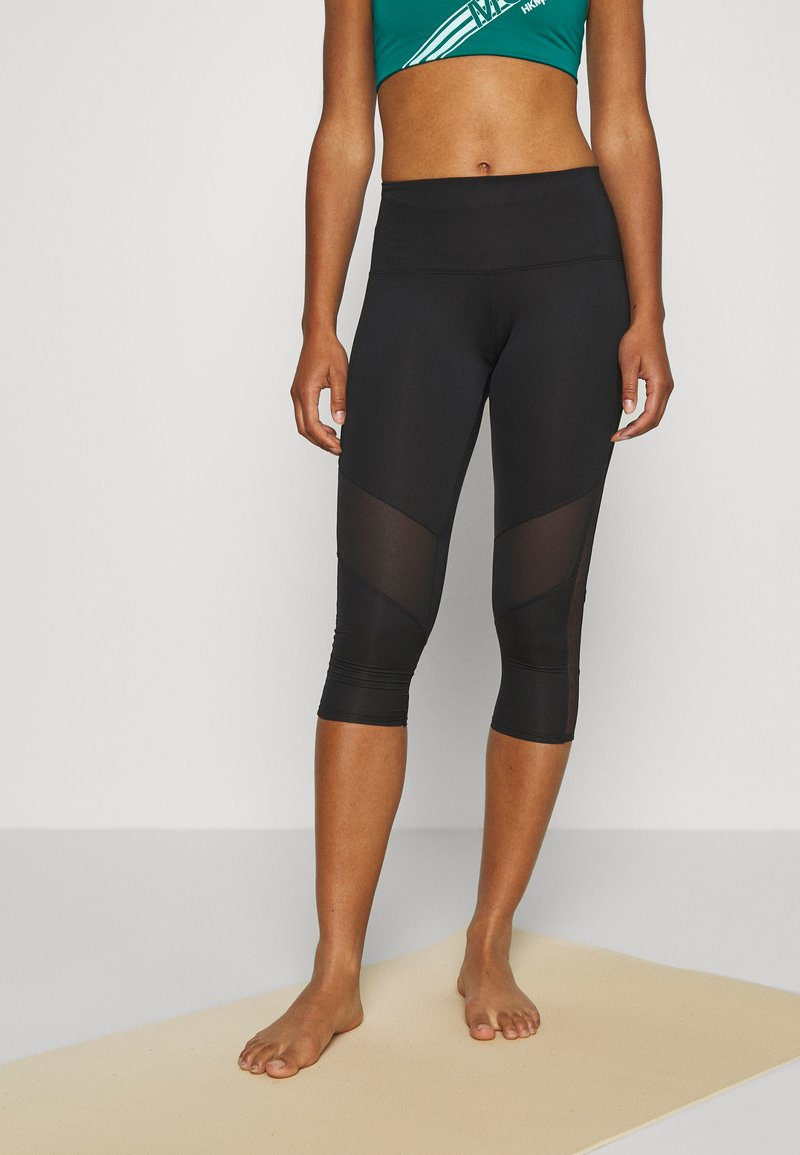 Hunkemöller - CAPRI - 3/4 sports trousers - black