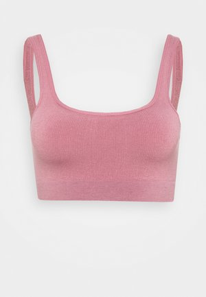 IMOGEN SQUARE NECK SEAMLESS BRALETTE - Bustier - orchid