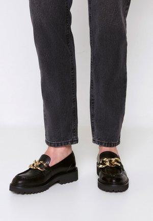 VITALI - Nazouvací boty - black