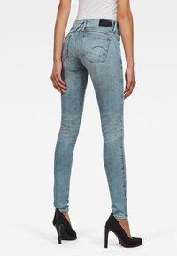 G-Star - LYNN MID SKINNY - Jeans Skinny - light blue - 1