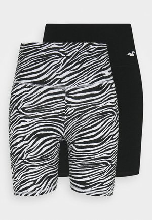 BIKE 2 PACK - Shorts - black