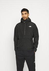 The North Face - WATERPROOF FANORAK - Hardshell jacket - black - 0