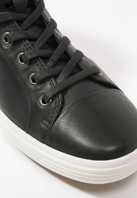 ECCO - SOFT VII - Sneakersy wysokie - black - 5