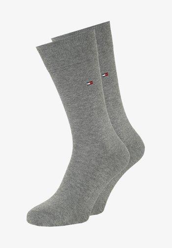 CLASSIC 2 PACK - Socks - middle grey melange