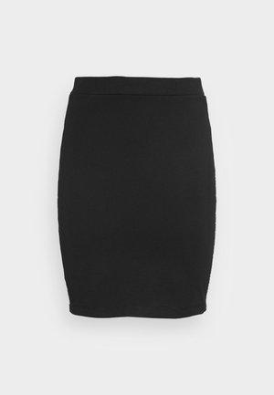 MILANO LOGO ELASTIC SKIRT - Mini skirt -  black