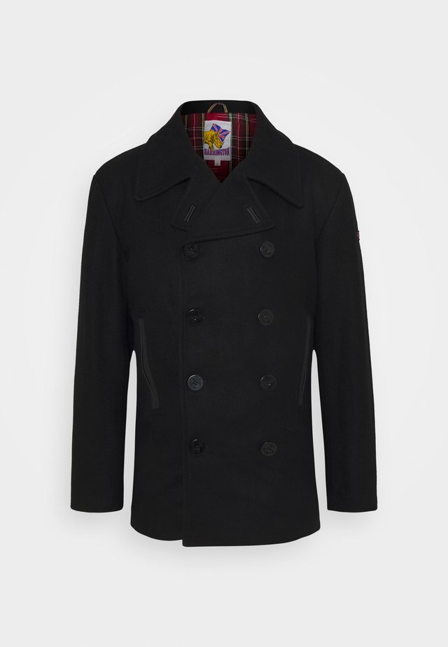 PCOAT - Trenchcoat - black