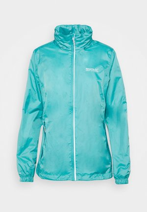 CORINNE  - Waterproof jacket - turquoise