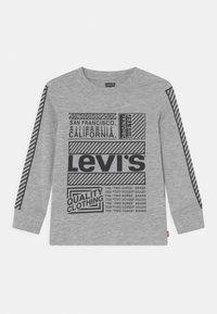 Levi's® - GRAPHIC TEE - Pitkähihainen paita - light grey heather - 0
