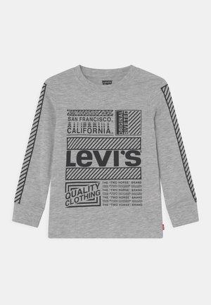 GRAPHIC TEE - Långärmad tröja - light grey heather