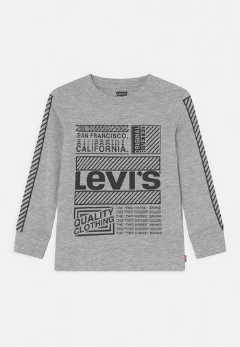 GRAPHIC TEE - Maglietta a manica lunga - light grey heather