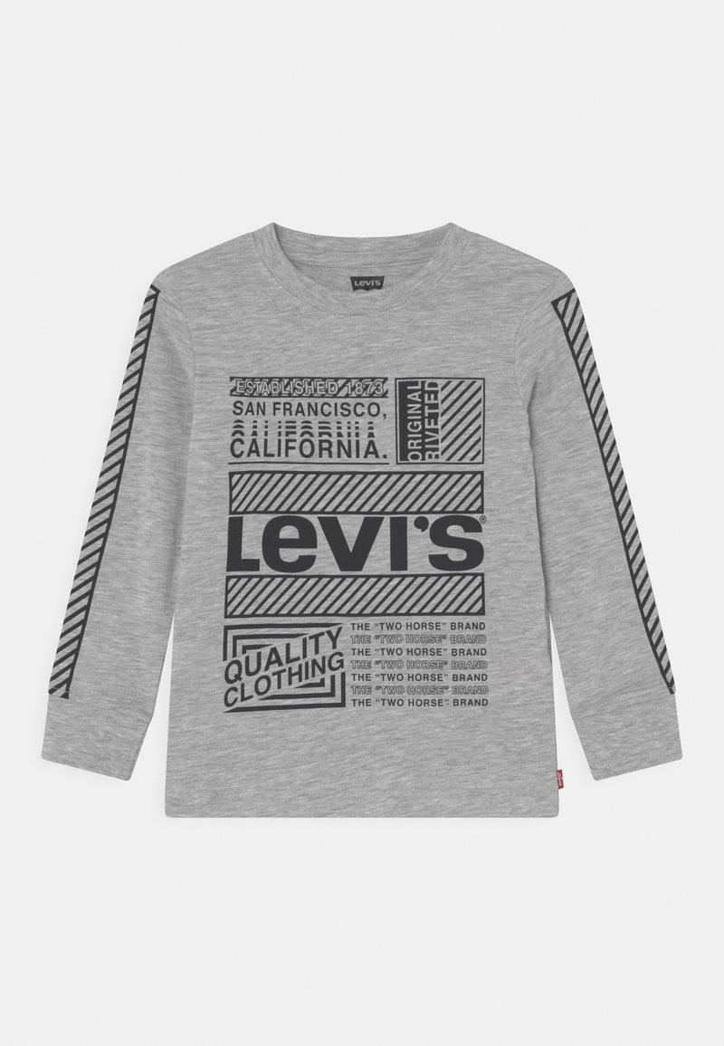 Levi's® - GRAPHIC TEE - Pitkähihainen paita - light grey heather