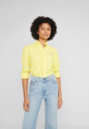 RELAXED LONG SLEEVE SHIRT - Camisa - lemon crush