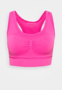 DESIGNED4TRAINING FORMOTION COMPRESSION - Medium support sports bra - screaming pink