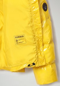 Napapijri - A-LOYLY - Winter jacket - yellow oil - 4