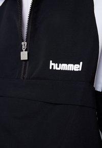 Hummel Hive - HALF ZIP - Vindjakke - black - 6