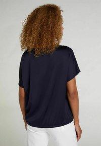 Oui - Basic T-shirt - nightsky - 2
