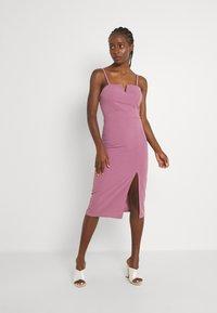 WAL G. - ELIZA MIDI  - Cocktail dress / Party dress - mauve pink - 0