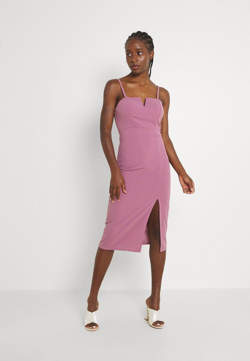 WAL G. - ELIZA MIDI  - Cocktail dress / Party dress - mauve pink
