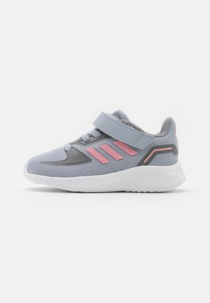 RUNFALCON 2.0 UNISEX - Obuwie do biegania treningowe - halo silver/super pop/grey three