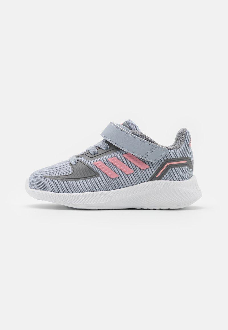 adidas Performance - RUNFALCON 2.0 UNISEX - Neutral running shoes - halo silver/super pop/grey three