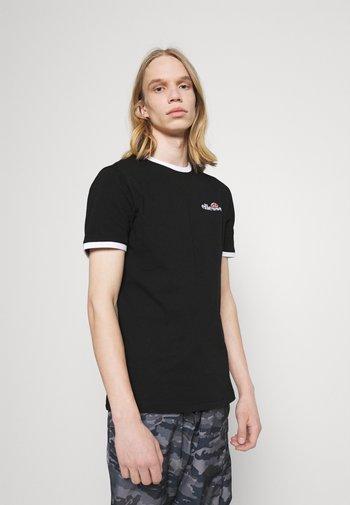 MEDUNO TEE - T-shirt imprimé - black
