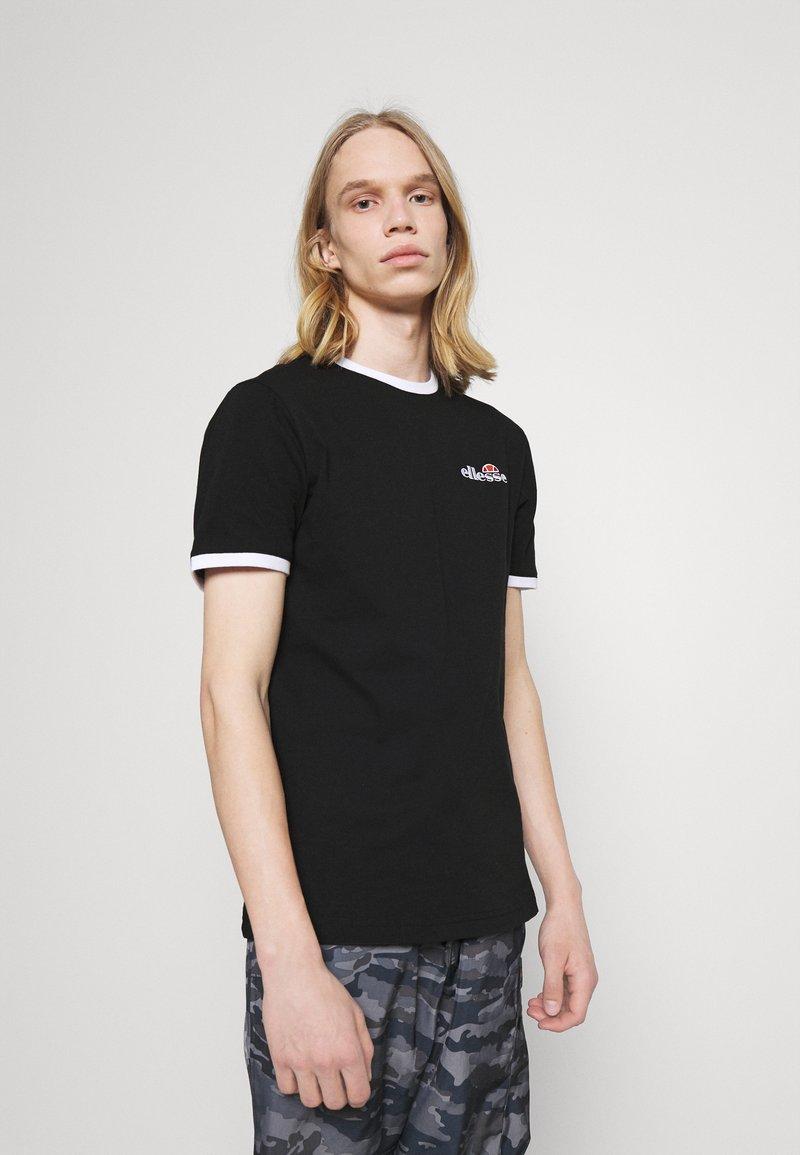 Ellesse - MEDUNO TEE - T-shirt imprimé - black