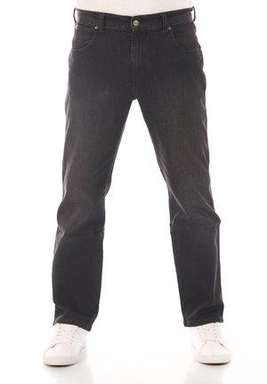 TEXAS STRETCH - Straight leg jeans - cash black