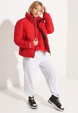 Winter jacket - risk red