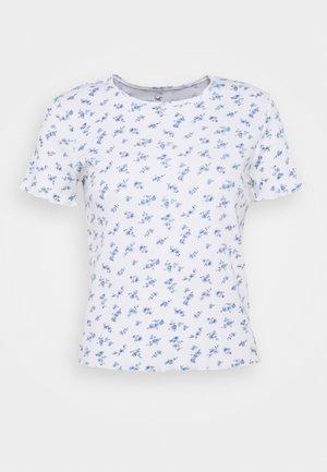 LETTUCE BABY TEE - Print T-shirt - white