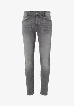 JOSH - Slim fit jeans - used light stone grey denim