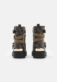 Guess - ORNINA - Cowboy/biker ankle boot - brown - 3