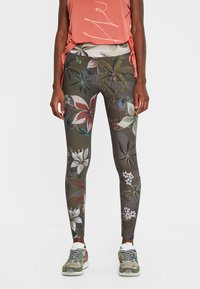 Desigual - Leggingsit - green - 0