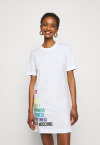 Love Moschino - Jersey dress - optical white - 0