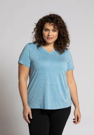 T-shirt print - bleu tahiti
