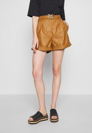 BONNIE  - Shorts - camel