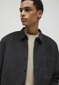 PULL&BEAR - Camicia - mottled dark grey - 4