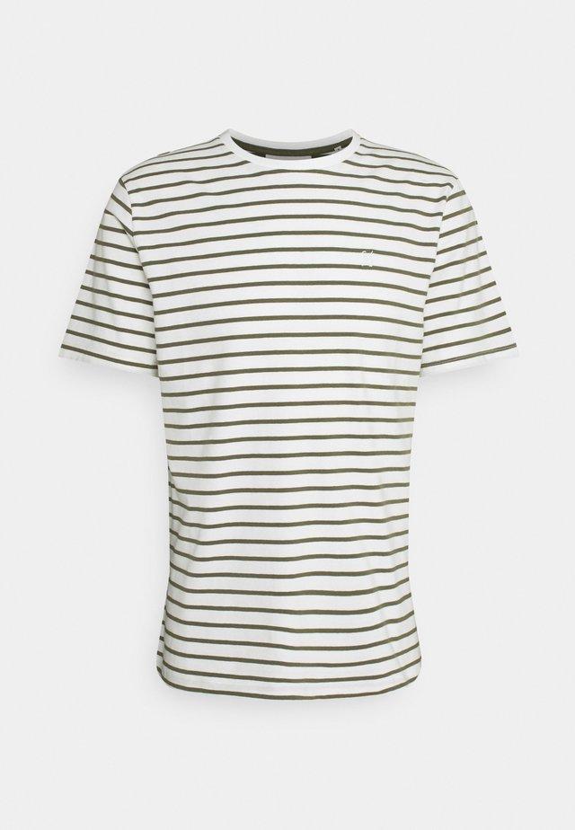TROELS - T-shirt imprimé - olivine