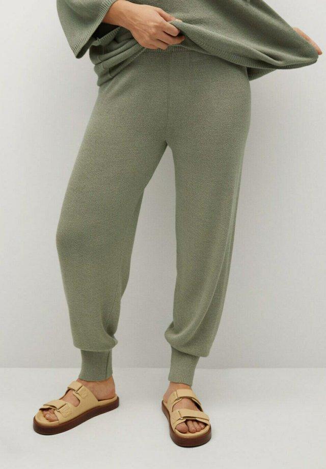 NALA - Teplákové kalhoty - wassergrün