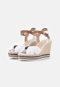 TOM TAILOR - Platform sandals - white - 2