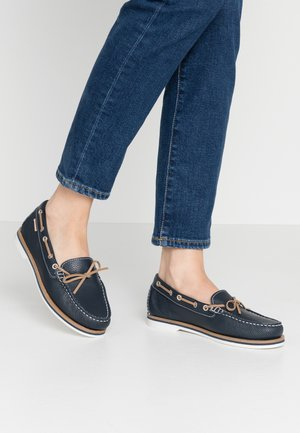NADINE  - Boat shoes - navy