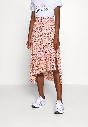 A-line skirt - multi color