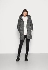 ONLY - Manteau classique - dark grey melange - 2