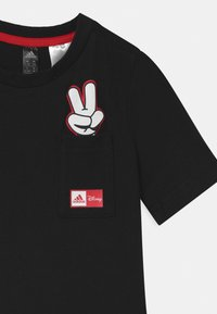 adidas Performance - SET UNISEX - Sports shorts - black/white/vivid red - 3
