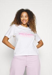 Juicy Couture - DOG  - T-shirt print - white - 0