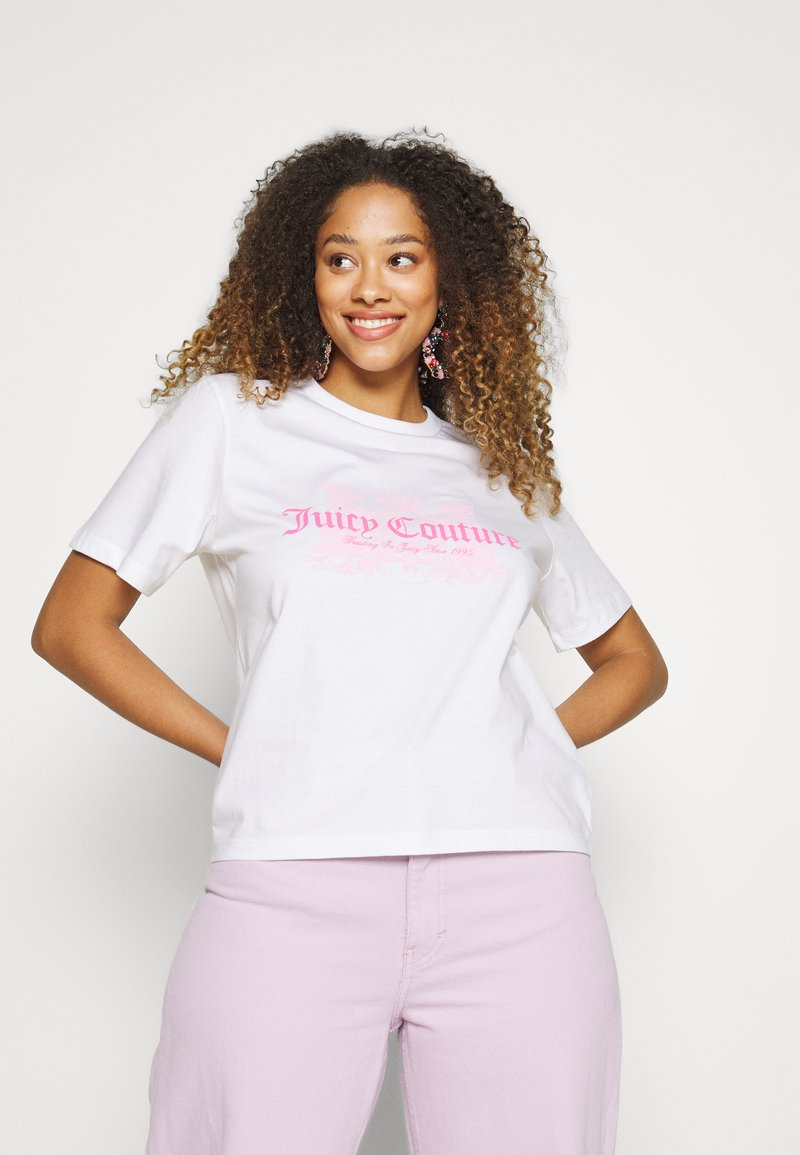 Juicy Couture - DOG  - T-shirt print - white