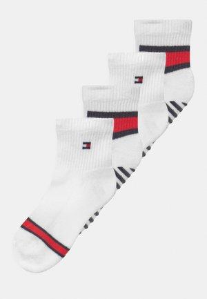 FLAG 4 PACK UNISEX - Socks - white