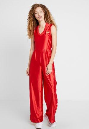 Jumpsuit - university red