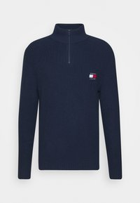 BADGE HALFZIP - Jumper - twilight navy